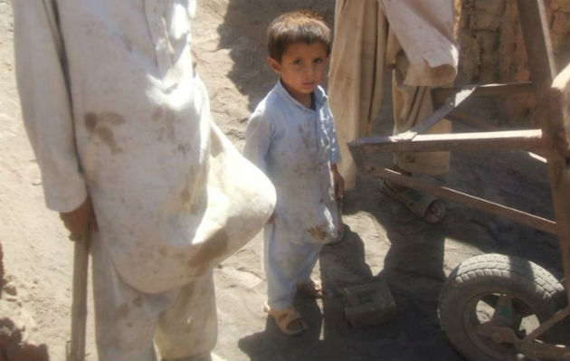 Thousands of children in Peshawar are denied an education as they are forced to work in the brick kilns