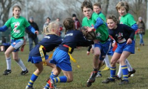 Action during the Lancashire Winter Sports Games