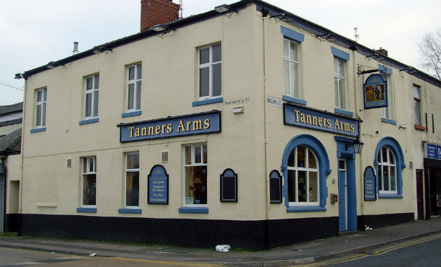 View of The Tanners Arms in 2007 when it was operational