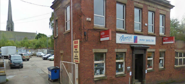 The former motor parts firm office could become more flats close to the university