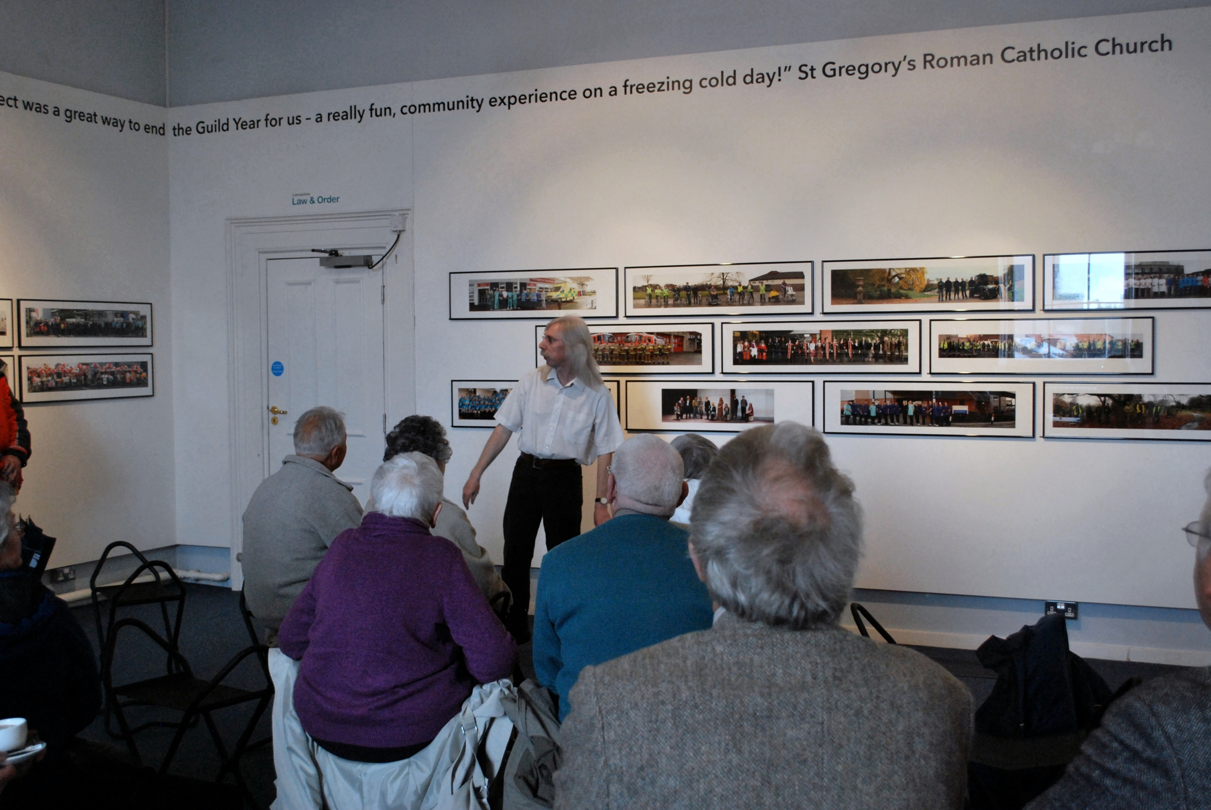 Dr Keith Vernon Giving 'Preston Panoramas' Exhibition At Museum Of Lancashire (small)