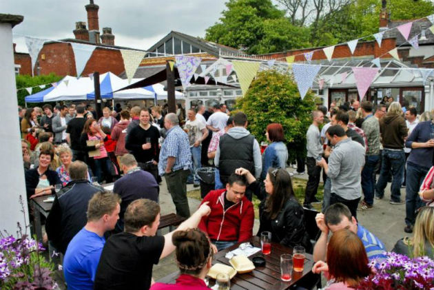 Thousands of real ale fans will flock to the Continental for the late May Bank Holiday weekend