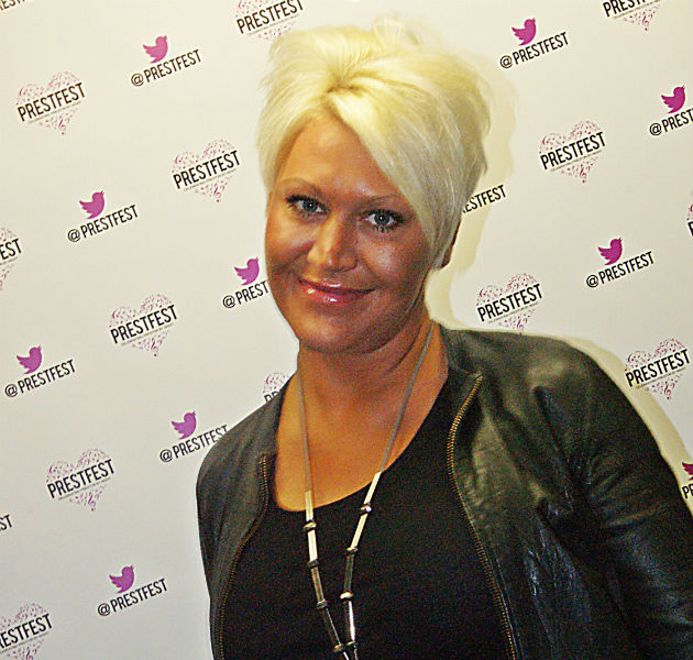 It's Jo from S Club 7! We think. She has aged a little.