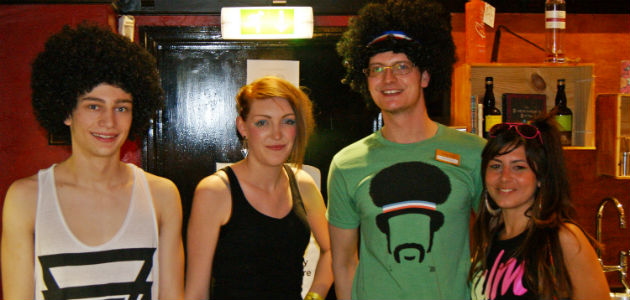 Fair play for the afro's lads...