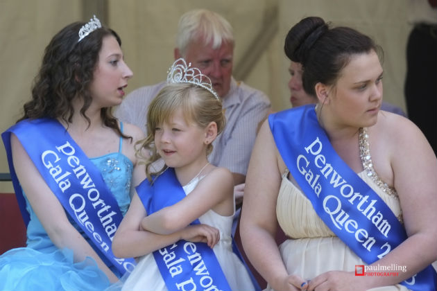 Taking part in the Gala Queen competition