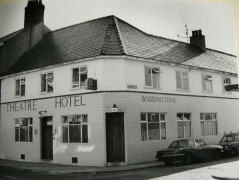 The Theatre Hotel, which replaced an older tavern on the site