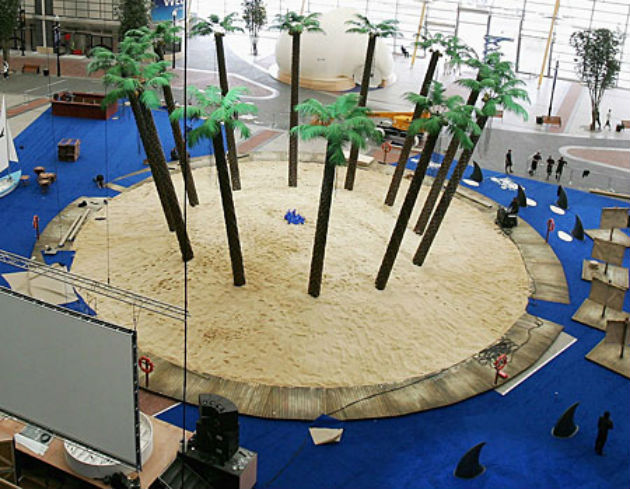 Indoor beaches have been constructed at venues in the UK before including the 02 - but this will be Preston's first