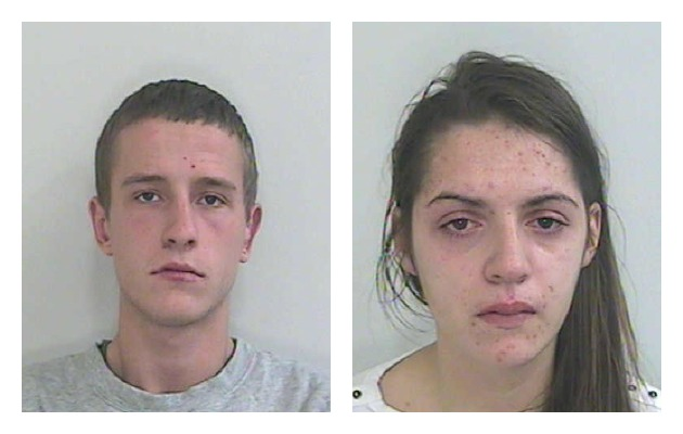 Richard Green (left) and Natalie Critchley face prison for the death of their daughter Lia