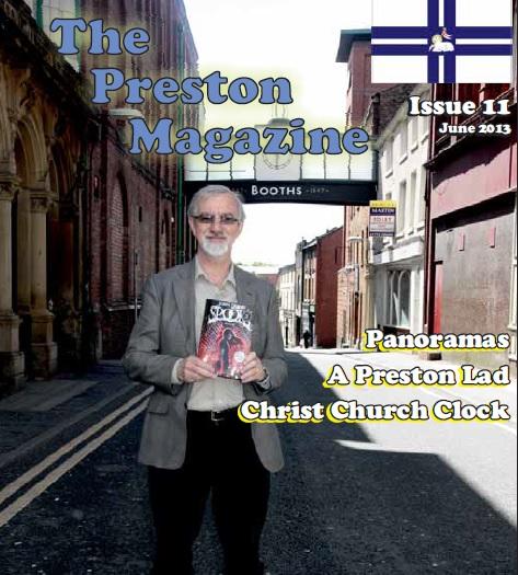 Front cover of the latest Preston Magazine