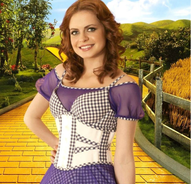Sophie Evans rose to fame in Over The Rainbow