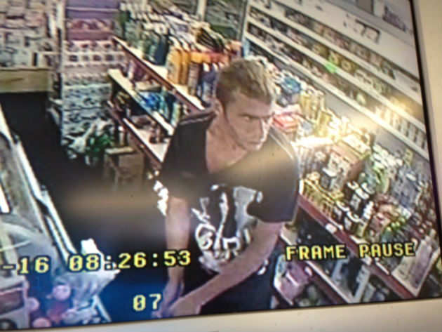 CCTV image of Thomas Green released in connection to an attempted theft from a motor vehicle