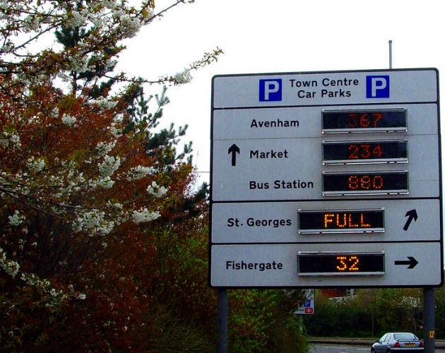 The city council has put money into improving Avenham car park
