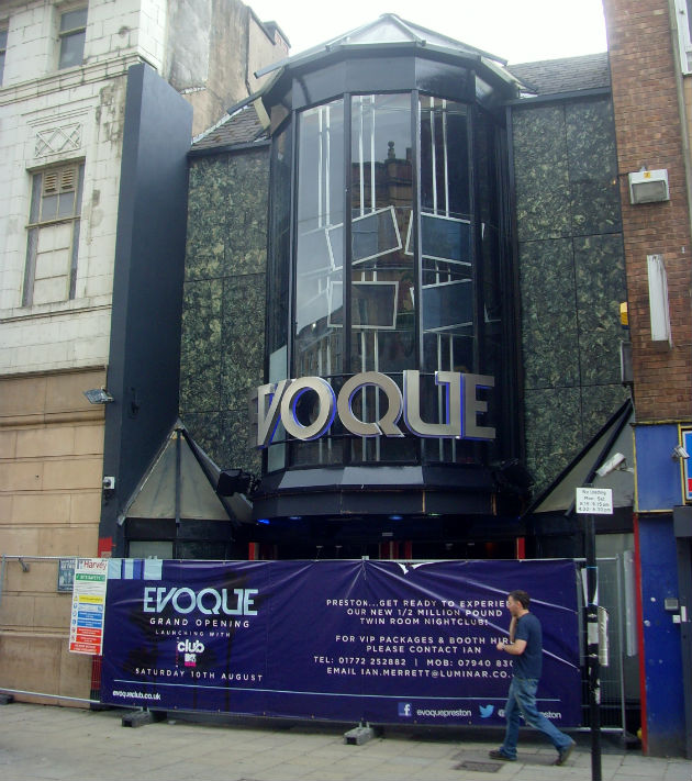 Evoque has been subject to a huge refurbishment
