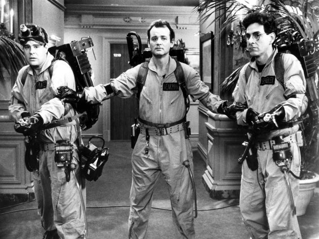 Ghostbusters will be one of the films shown on the Harris Flights