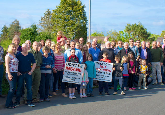 The residents of Lightfoot Lane have been battling against numerous planning applications in the area