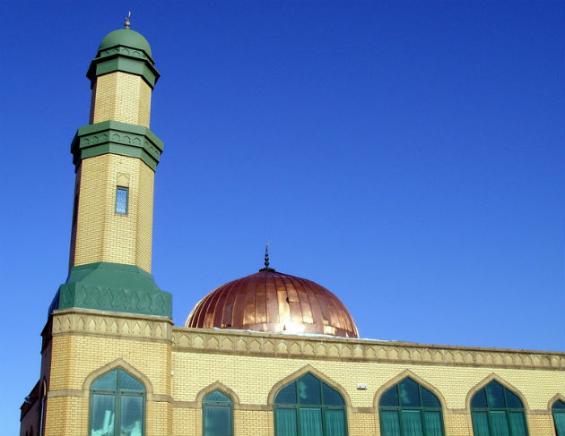Preston's mosque photographed by Tony Worrall