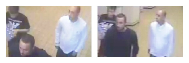 Three men appear in the CCTV images released by Lancashire Police
