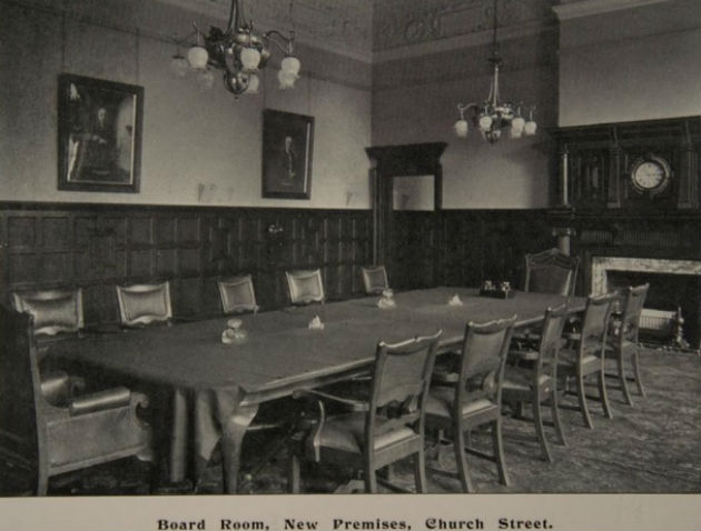 The bank's original boardroom
