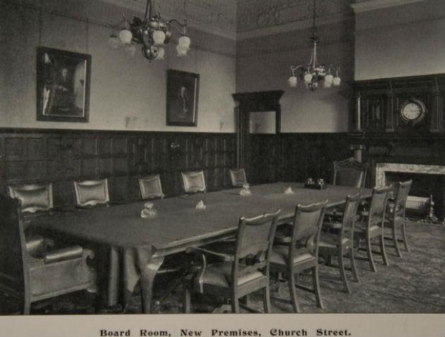 The bank's original boardroom