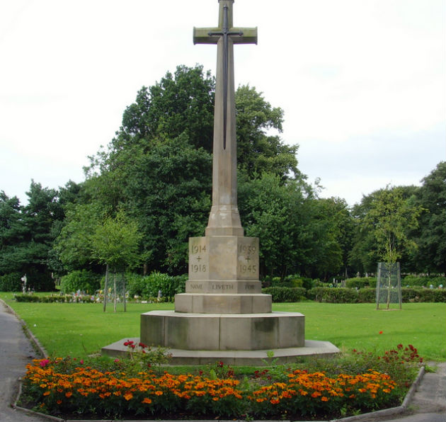 The war memorial in the cemetery will be the focus for the service
