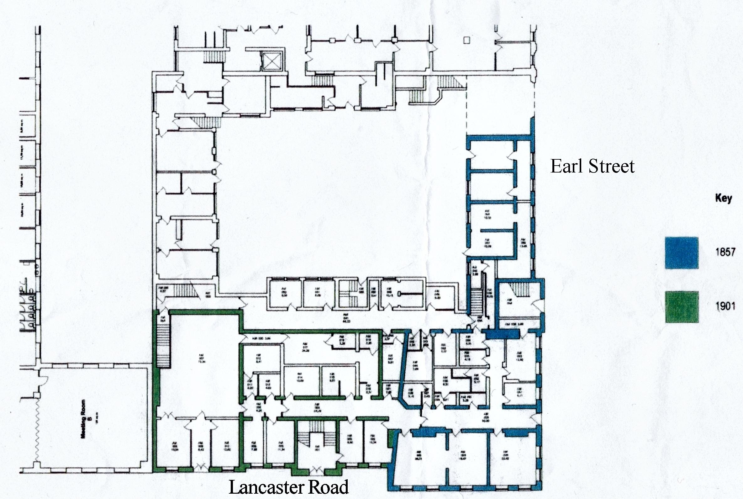 Amounderness House Plan Level 1