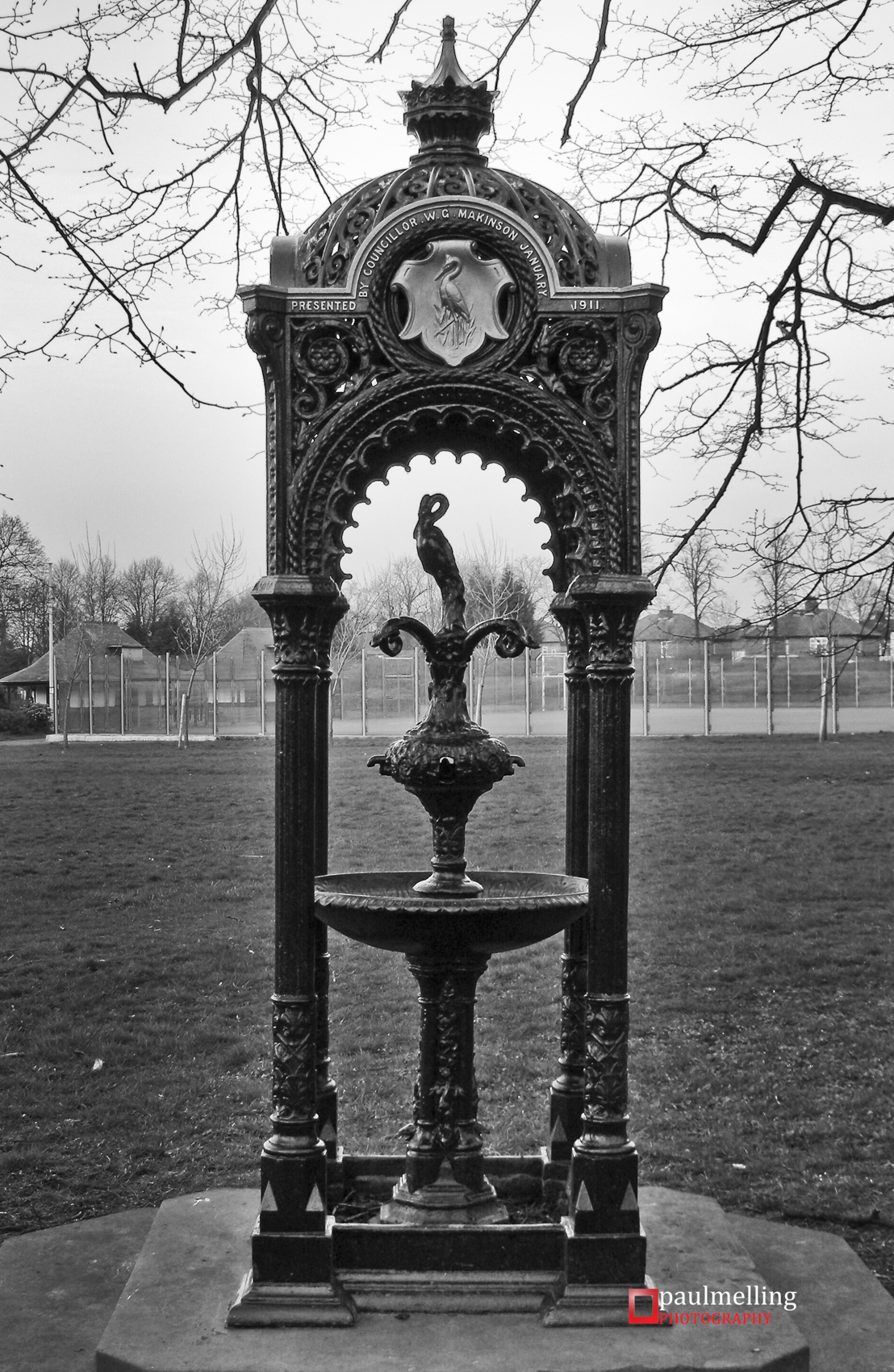 Listed Haslam Park Fountain