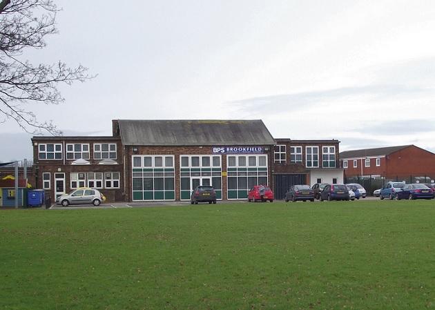 Brookfield Primary School is one of five schools to have work undertaken to improve its heating