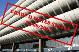 Stamp of approval: The Bus Station is now grade II listed