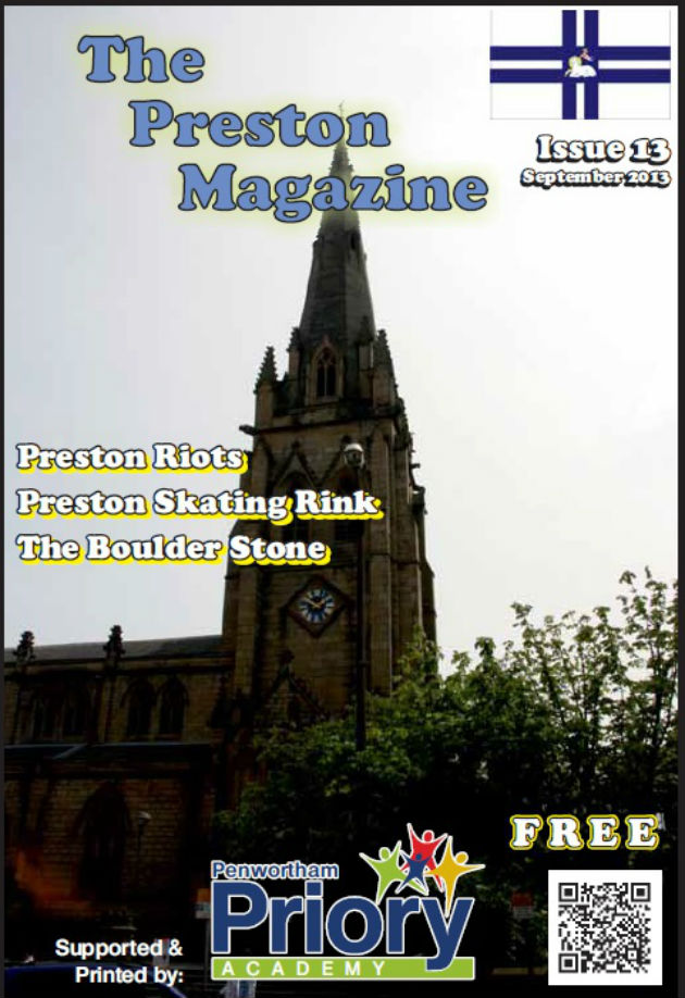 Front cover of the September issue of The Preston Magazine