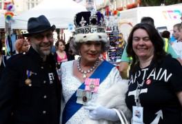 The Queen even made an appearance at Preston Pride