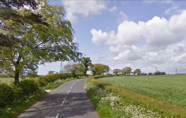 Green fields along Sandy Lane could disappear under hundreds of new homes