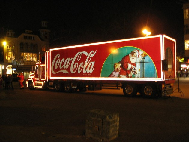 The Coca Cola truck will make an appearance in Preston