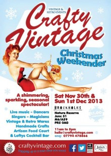 Crafty Vintage weekend