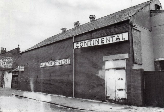 One of the former Fishwick cinemas - the Continental