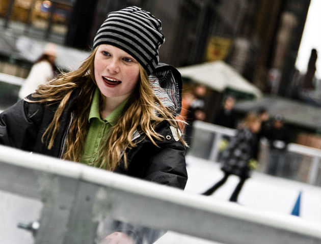 Skaters will be able to enjoy a 45-minute ice session
