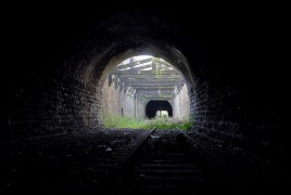The tunnel runs under a good swathe of Preston before heading off towards Longridge