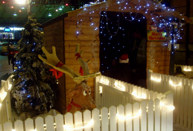 Santa's grotto at last year's Christmas Market