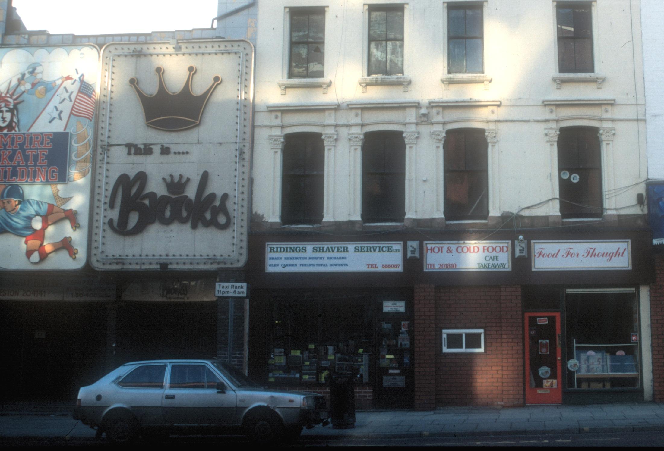 Brooks Nightclub 80's