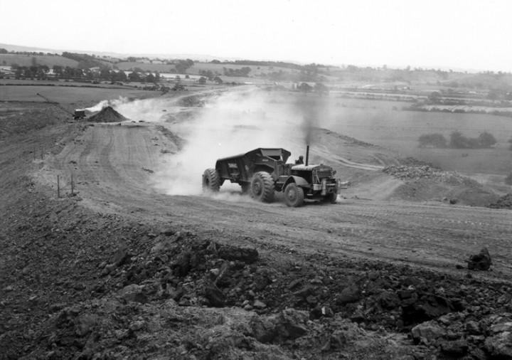 b) Preston Bypass Construction c. 1956