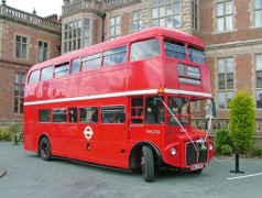 Classic Bus North West also operated special buses for weddings and other events