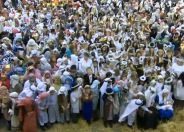 Pupils from Archbishop Temple in the Nativity