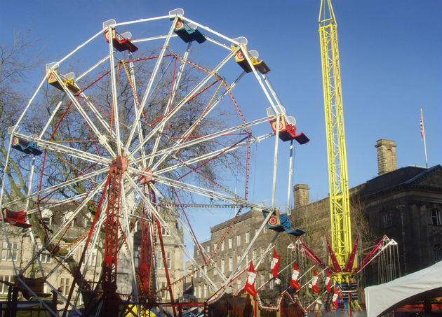 The big Preston wheel