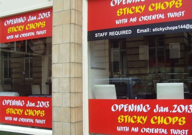 sticky chops