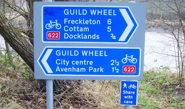 guild wheel sign