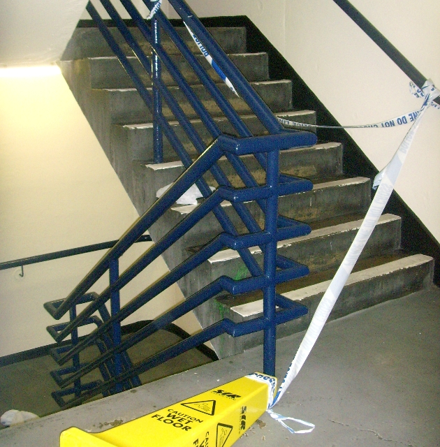stairs closed