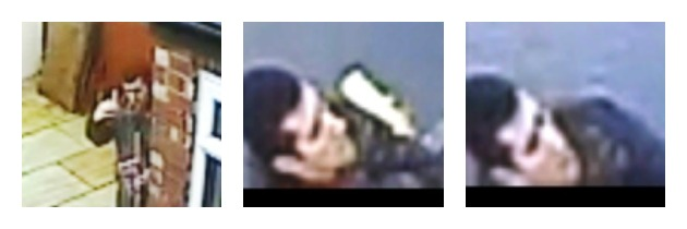 CCTV images released by police of the man they wish to speak to