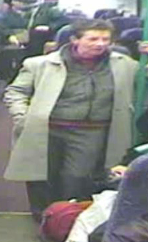 CCTV image of the woman police want to speak to