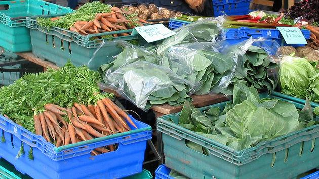 Fresh fruit and veg will be on offer