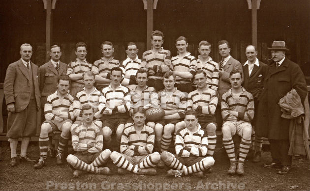 The first XV Grasshoppers side from 1925