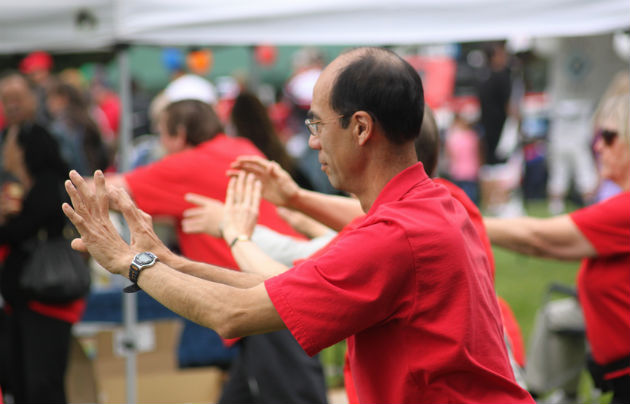 Tai chi is one of the activities on offer